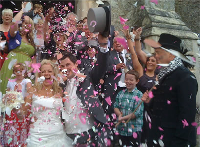 Book a lucky chimney sweep for your wedding.