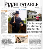 Whitstable Times article.